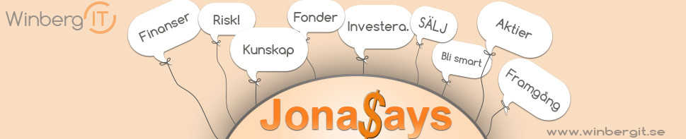 Blog top Jonas Says